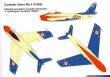 Cavallino Rampante Canadair Sabre Mk.4 paint scheme