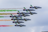 Frecce Tricolori to perform a series of flyovers in Italy