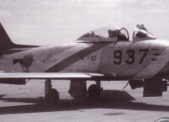 Blue Impulse F-86F Sabre in 1960 livery