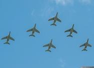 Belgian Air Force Smoke Formation