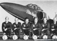 Blue Angels F11F Tiger pilots