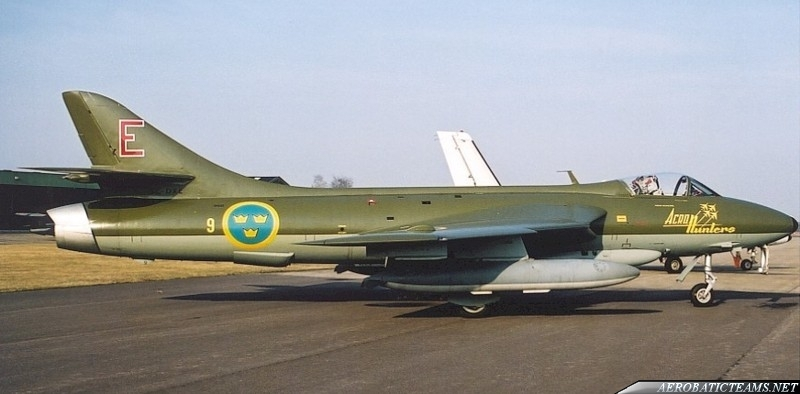 Acro Hunters Hawker Hunter Mk.50 (J34)