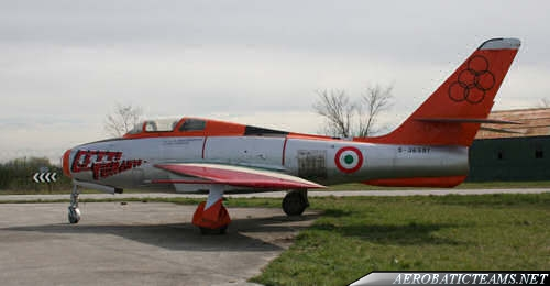 Getti Tonanti F-84F Thunderstreak