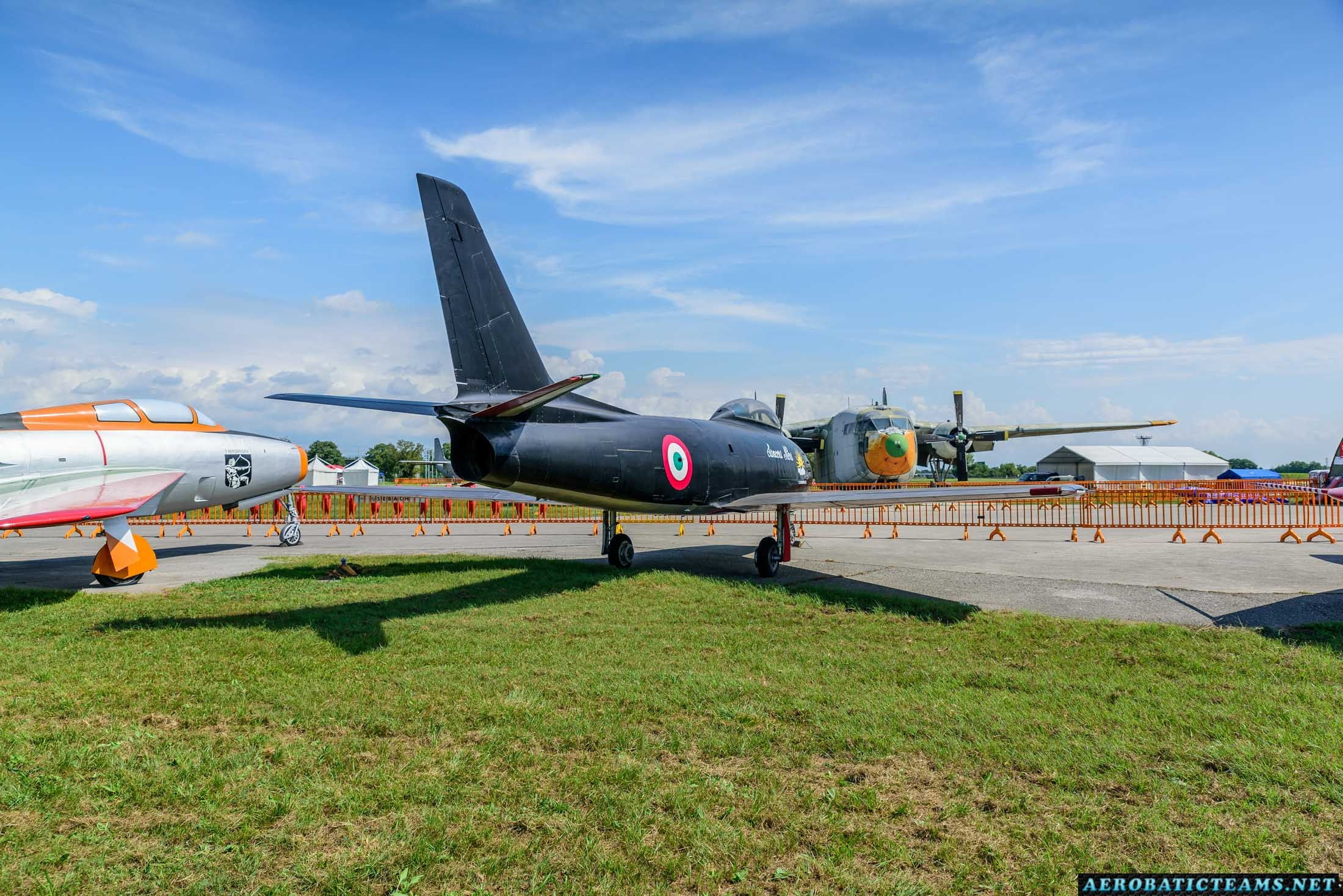 Lanceri Neri Canadair Sabre Mk.4 at Rivolto Air Base