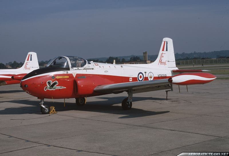 The Macaws Jet Provost T.4, second livery
