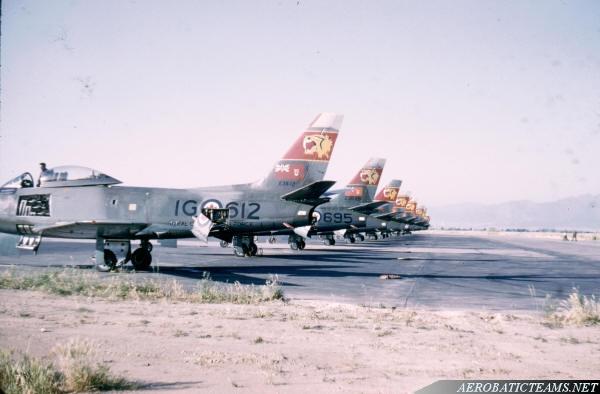 RCAF Tigers Canadair F-86 Sabre