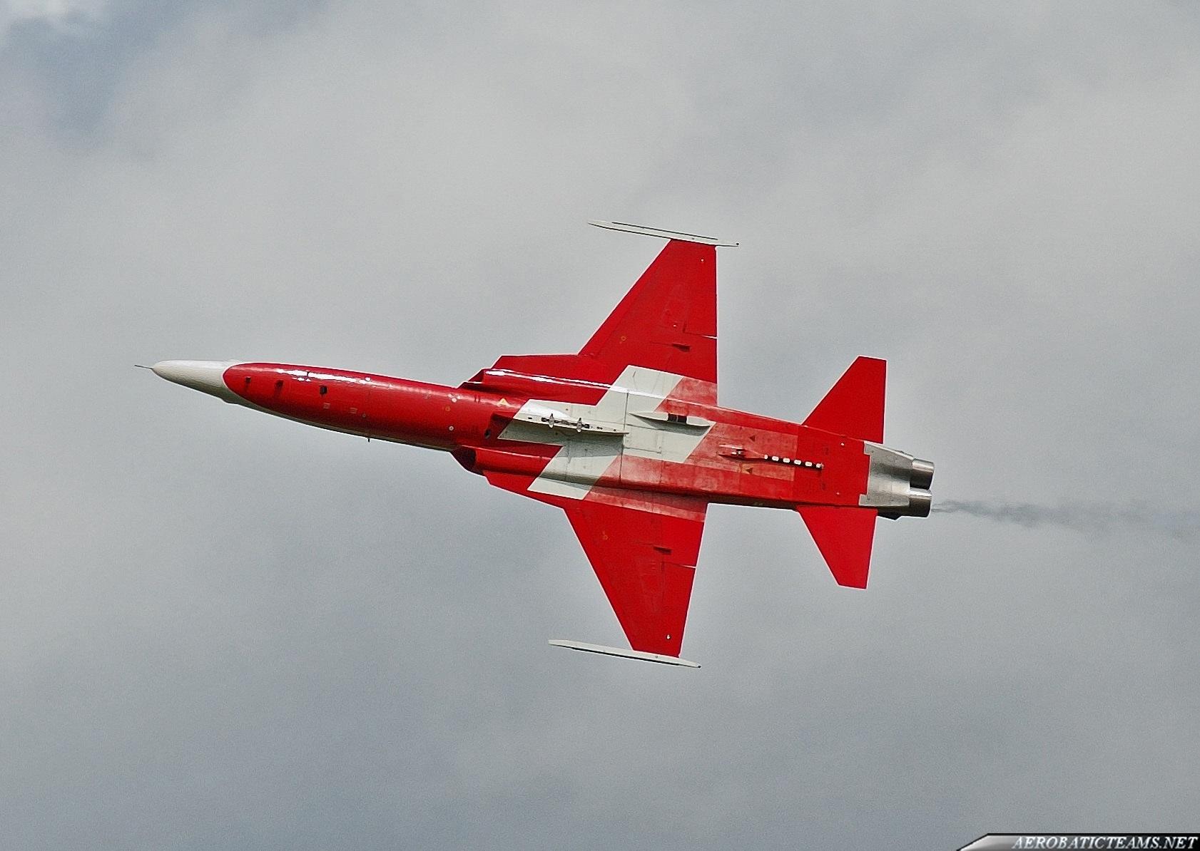 Patrouille Suisse F-5 Tiger