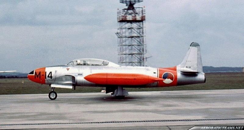 Whiskey Four T-33 T-bird. First paint scheme