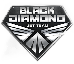 Black Diamond Jet Team logo
