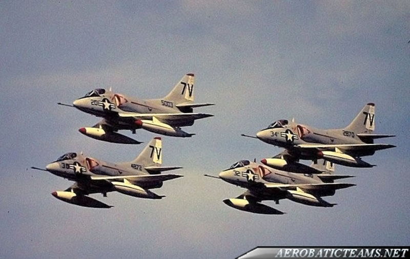 Air Barons A-4B Skyhawk from 1964 to 1970