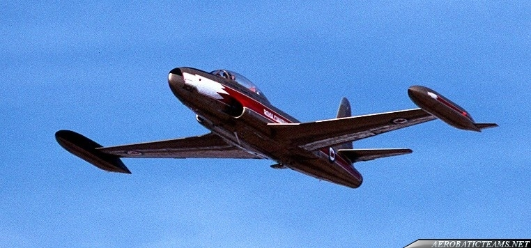 Golden Hawks Canadair CT-133 Silver Star