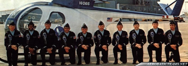 Silver Eagles crew members