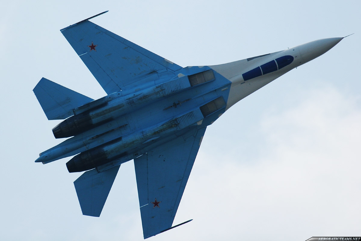 Russian Falcons Su-27