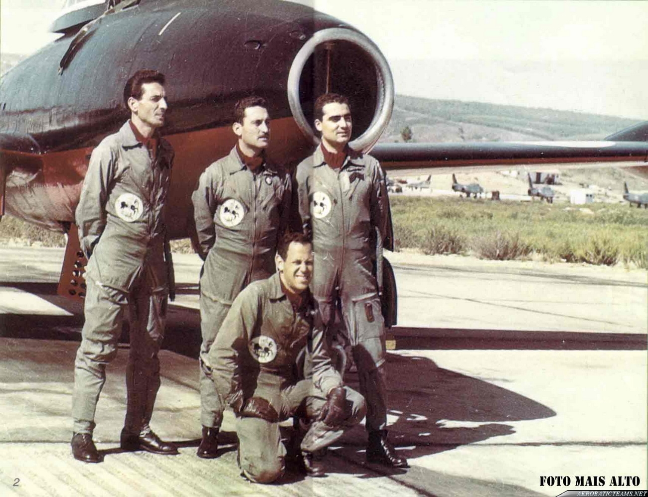 Sao Jorge pilots.