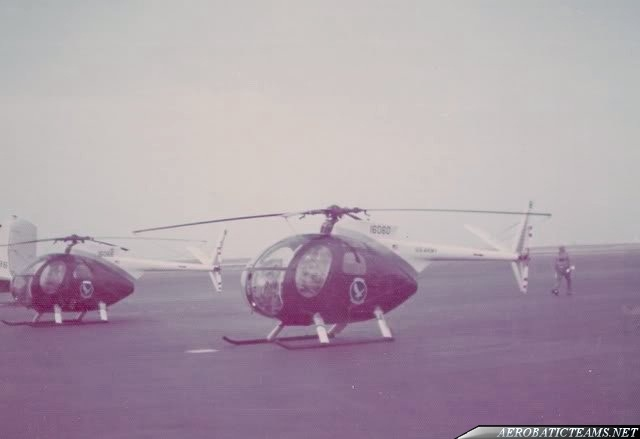 Silver Eagles OH-6A Cayuse. First paint scheme from 1972 to 1974