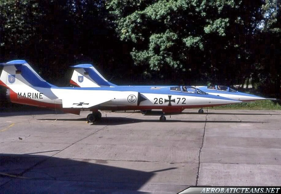 Vikings F-104 Starfighter. Eindhoven Air Show 1986. Photo by Eddy Magielse