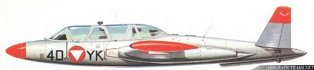 Silver Birds CM-170 Fouga Magister, 1966-1968