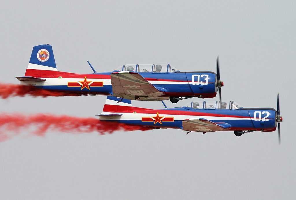 Sky Wing aerobatic team