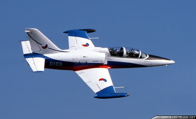 White Albatrosses L-39 in Czechoslovakian Air Force from 1991 to 1993