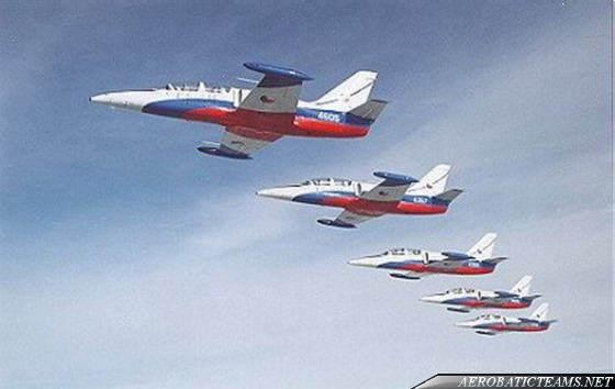 White Albatrosses in Czechoslovakian Air Force from 1991 to 1993