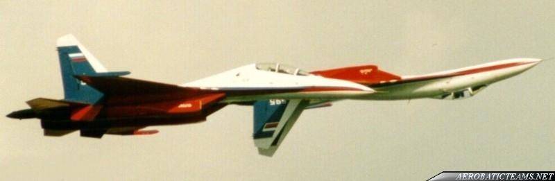 Test Pilots Su-27 and Su-27UB