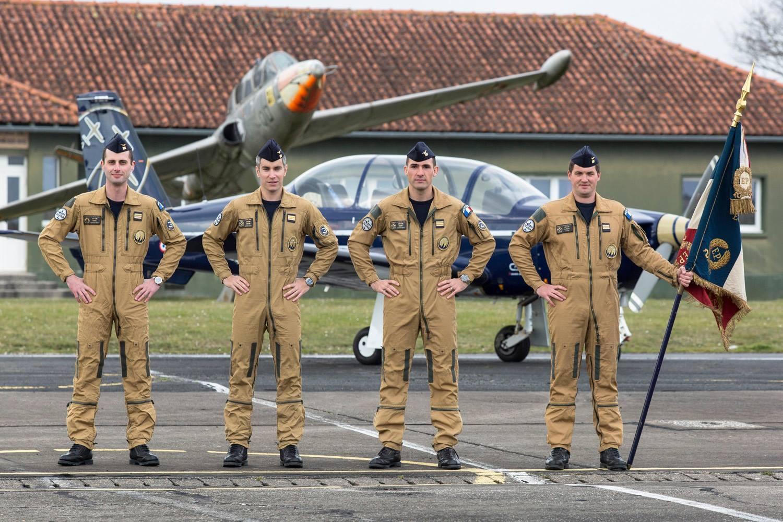 Cartouche Dore 2016 pilots