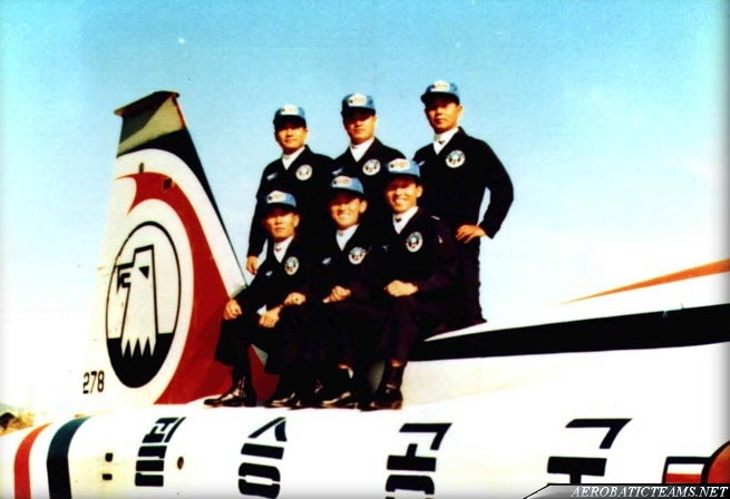 Black Eagle pilots