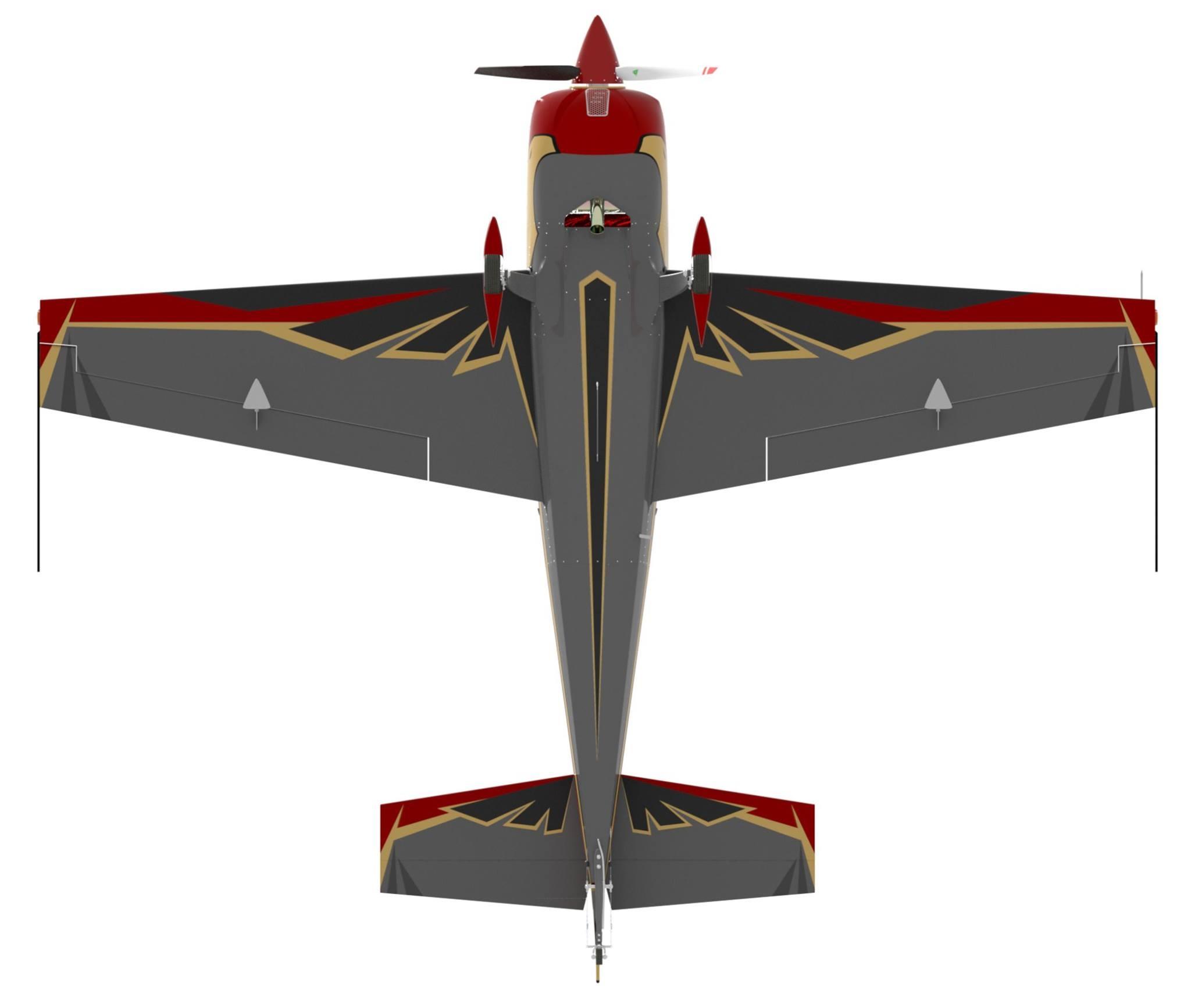 Royal Jordanian Falcons Extra 330LX color scheme. Photo teams facebook page