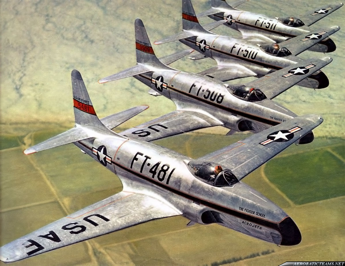 Acrojets Lockheed F-80 Shooting Star