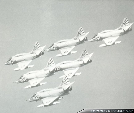 Air Barons A-4L Skyhawk from 1970 to 1971