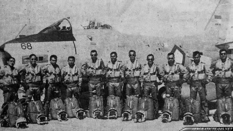 Spirit 78 aerobatic team pilots