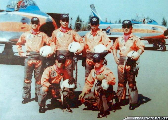 Blue Sabre pilots