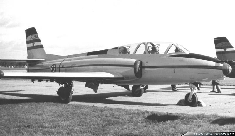 SOKO G-2 Galeb Aerobatic Display Team
