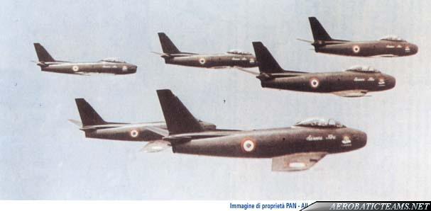 Lanceri Neri Canadair Sabre Mk.4