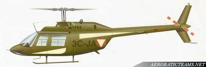 Kleeblatt Bell 206 Jet Ranger livery