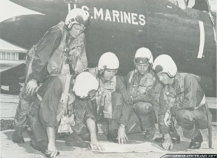 Marine Phantoms pilots