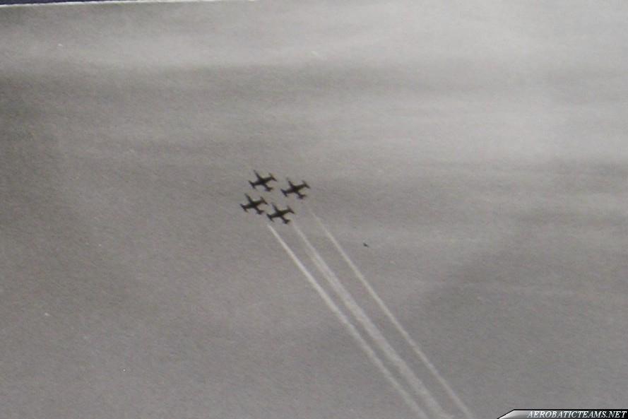 USAFE Acrojets Lockheed T-33 Shooting Star