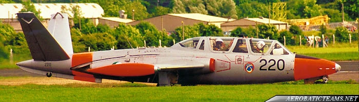 Silver Swallows CM170 Fouga Magister