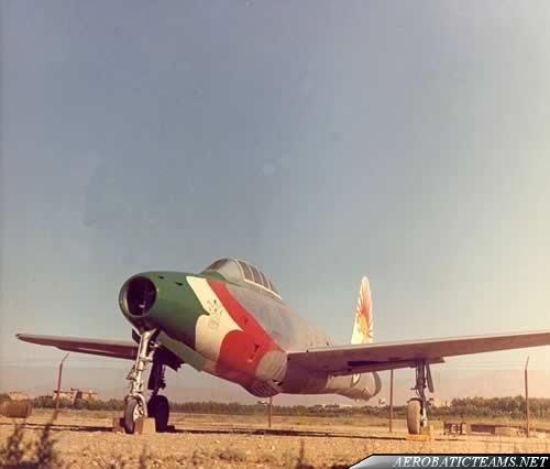 Golden Crown F-84G Thunderjet (1958-60)