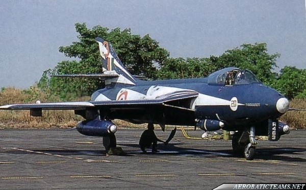 Thunderbolts Hawker Hunter F.56A