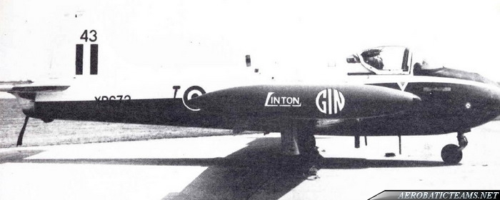 Linton Gin Jet Provost T4