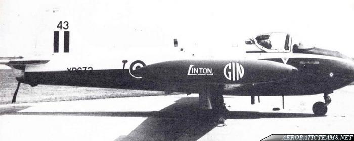 Linton Gin Jet Provost T4
