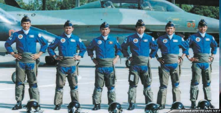 Jupiter Blue aerobatic team pilots