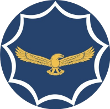 Silver Falcons aerobatic team logo
