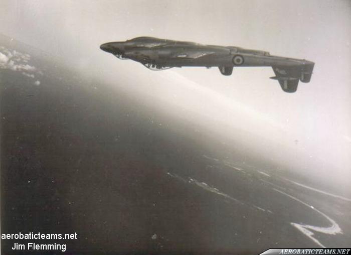 RAAF Meteorites Gloster Meteor F8. Photo by Jim Flemming