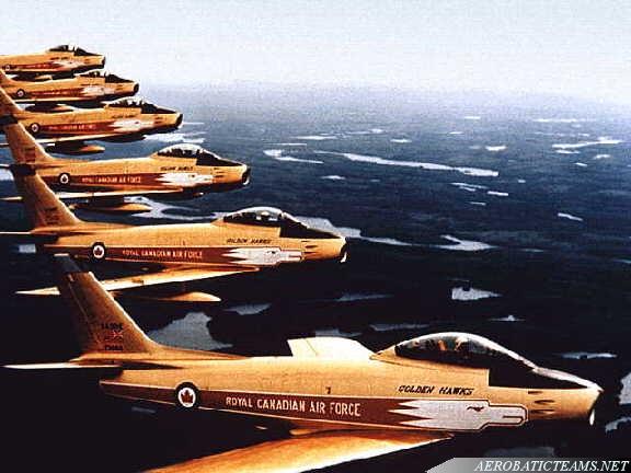 Golden Hawks Canadair Sabre Mk.5