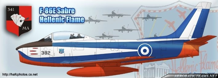 Hellenic Flame Canadair CL-13 Mk.2 livery