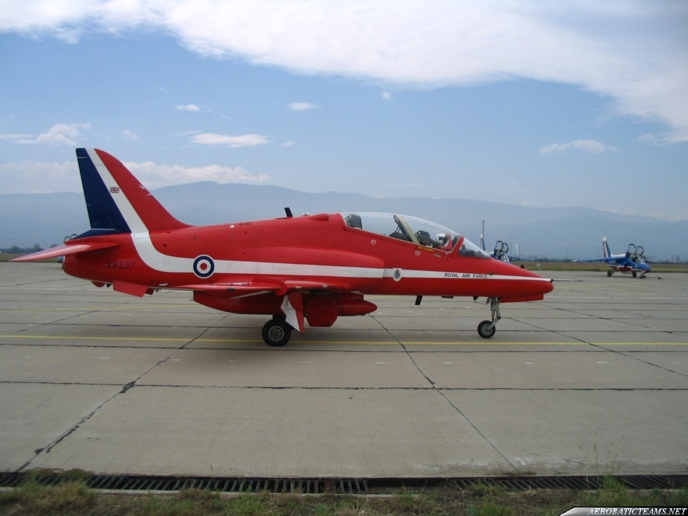 Surya Kiran will fly the same aircraft as Red Arrows.