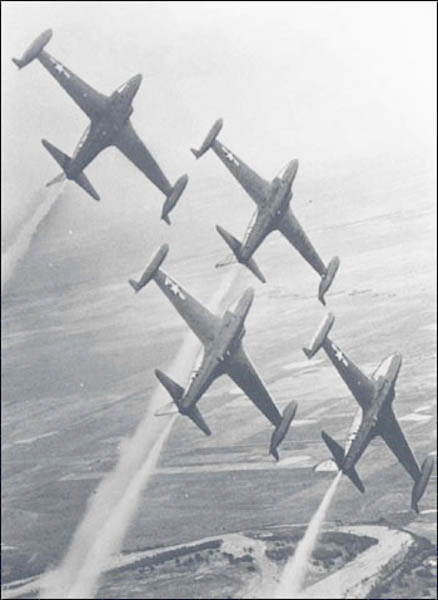 Minute Men F-80C Shooting Stars
