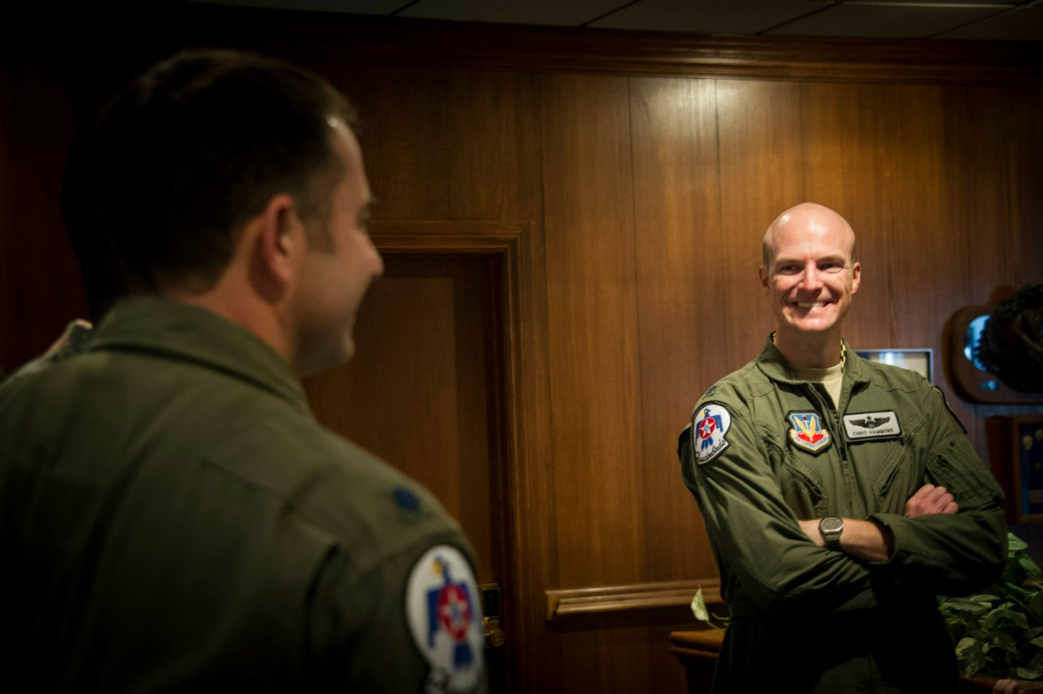 Thunderbirds new leader Lt. Col. Chris Hammond